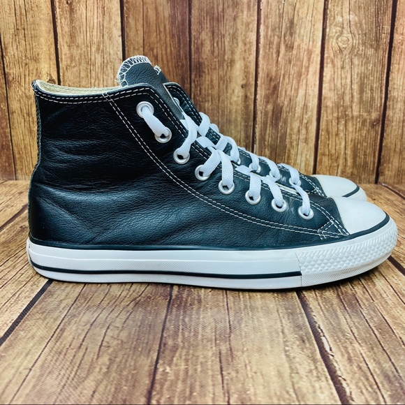 Converse Other - Leather Converse Chuck Taylor All Star High Tops